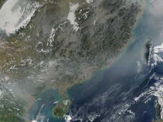 Fires & Pollution in Southern China & Vietnam