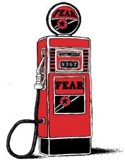 Fear becomes fuel