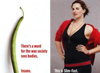 Slimfast advertisement