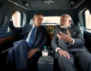 President Obama meeting PM Modi in Washington, DC