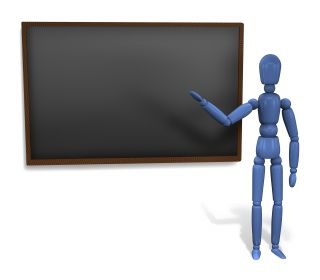teacher blackboard