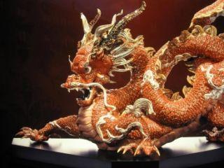angry dragon