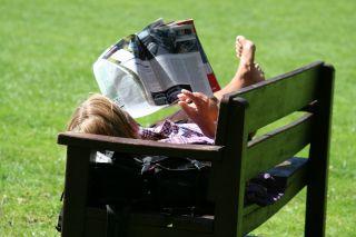 reading column
