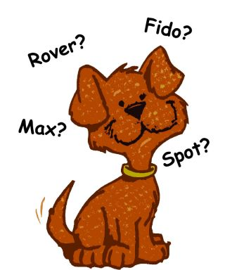 dog canine name pet language signal sound
