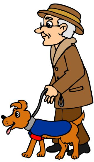 dog canine pet human animal bond aging elderly senior health welfare