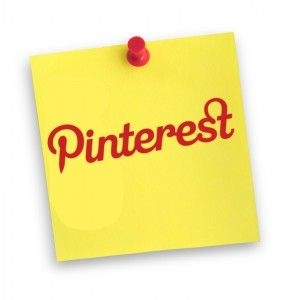 Pinterest and post-it note