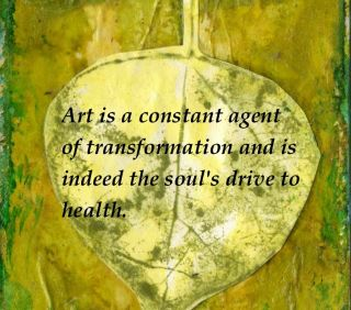 Quote and art by Cathy Malchiodi