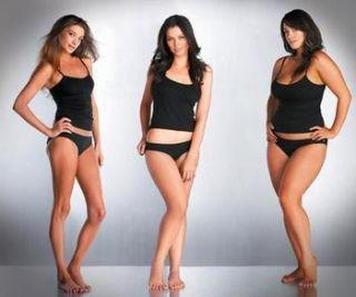 What men likes in women body