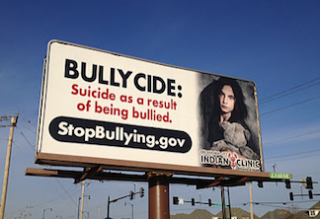 bullycide billboard