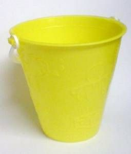 Yellow Beach Pail