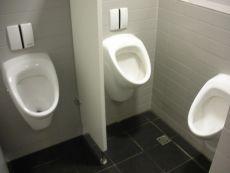 3 urinals
