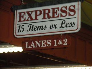 express lane