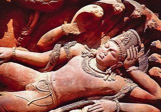 Vishnu dreaming