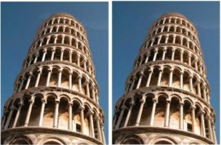 Pisa illusion