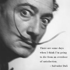 Dalí on happiness