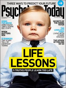 Psychology Today October 2012 cover