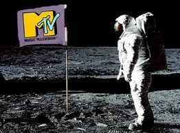 MTV Flag with Astronaut