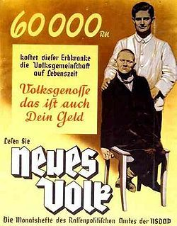 Nazi Propaganda for the Euthanasia Program