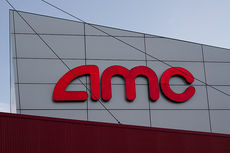 A picture of a sign showing the AMC logo