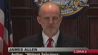 James Allen -- Author of Without Sanctuary -- Bearded white man with glasses