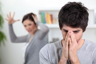 How to deal with angry depressed spouse