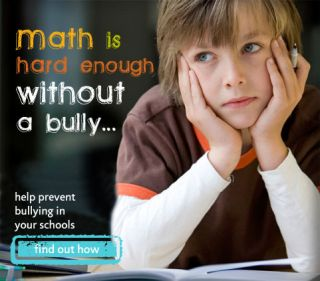 Math is hard enough without a bully with image of student