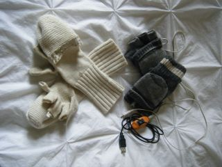 Indoor gloves against the anorexic cold