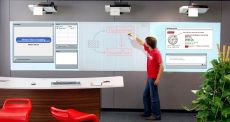 Immersive digital whiteboards.