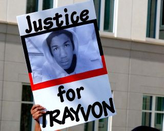 Sign: Justice for Trayvon