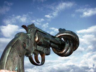 Nonviolence sculpture