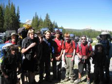 Troop 222 in Yosemite