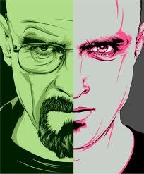 Breaking Bad, Walter White, Jesse, Binge Watching, Binge TVE