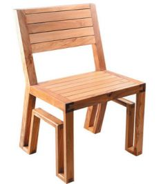 a dining chair