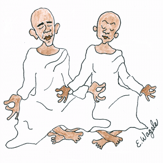 Obama monks