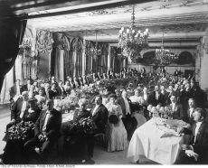 The upper class a century ago