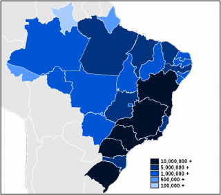 What Does The Brazilian Census Tell Us About Race Psychology Today - Us race map