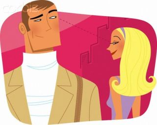 flirting moves that work for men without glasses images cartoon