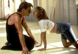 Dirty Dancing Baby and Johnny romance