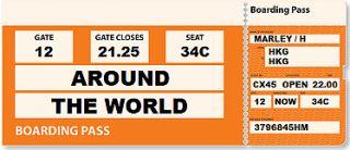 Around the world ticket