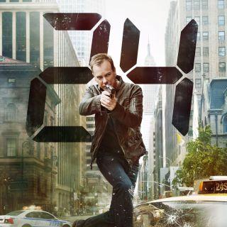 Jack Bauer 24 Kiefer Sutherland tv poster