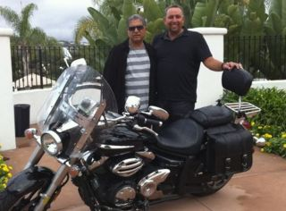 Motorcycles and inner peace, with Deepak Chopra