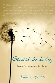 struck by living book cover