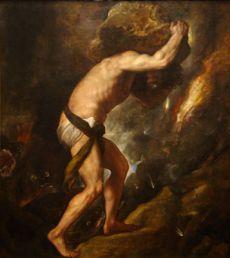 Titian's Sisyphus