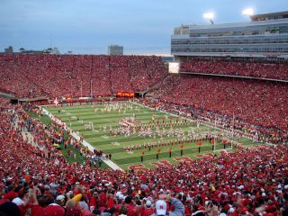 Memorial Stadium on a Cornhuskers Game Day