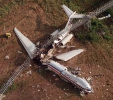 Plane crash image