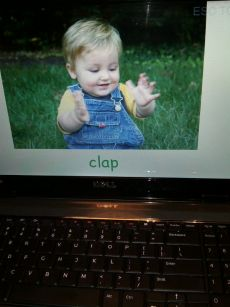Baby clap picture