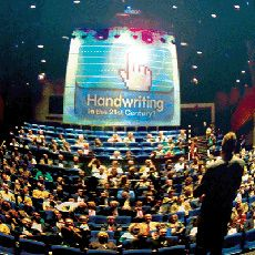 Picture of handwriting summit