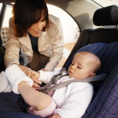Buckling Up in the Car Seat