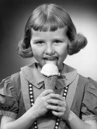 Girl with Ice Cream Cone