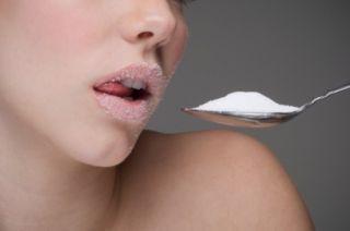 Αποτέλεσμα εικόνας για fat woman eating sugar